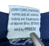 1998 TAZ  Made in USA Vintage Looney Tunes Sweat-Shirt / 707