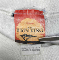 90's Lion King Made in USA Vintage Disney Sweat-Shirt / 713