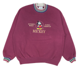90's Mickey Made in USA Vintage Disney Sweat-Shirt / 716