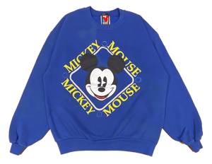 90's Mickey Made in USA Vintage Disney Sweat-Shirt / 718