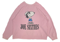 80's Snoopy Peanuts Vintage Sweat Shirt / 723