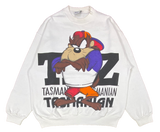 1992 TAZ Looney Tunes Vintage Sweat Shirt / 725