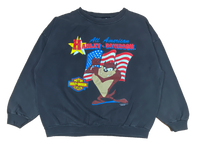 1993 Harley Davidson x Looney Tunes Made in USA Vintage Sweat Shirt / 737