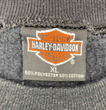 1991 Harley Davidson Made in USA Vintage Sweat Shirt / 738