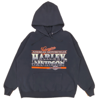 1991 Harley Davidson Made in USA Vintage Hoodie Sweat Shirt / 739