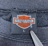 90's Harley Davidson Made in USA Vintage Sweat Shirt / 741