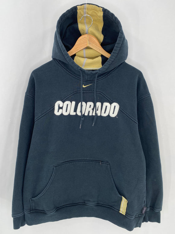 00' NIKE COLORADO Size M Vintage Hoodie Sweat-Shirt / 6957