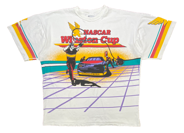 90's Winston Cup Racing Vintage T-Shirts / 875