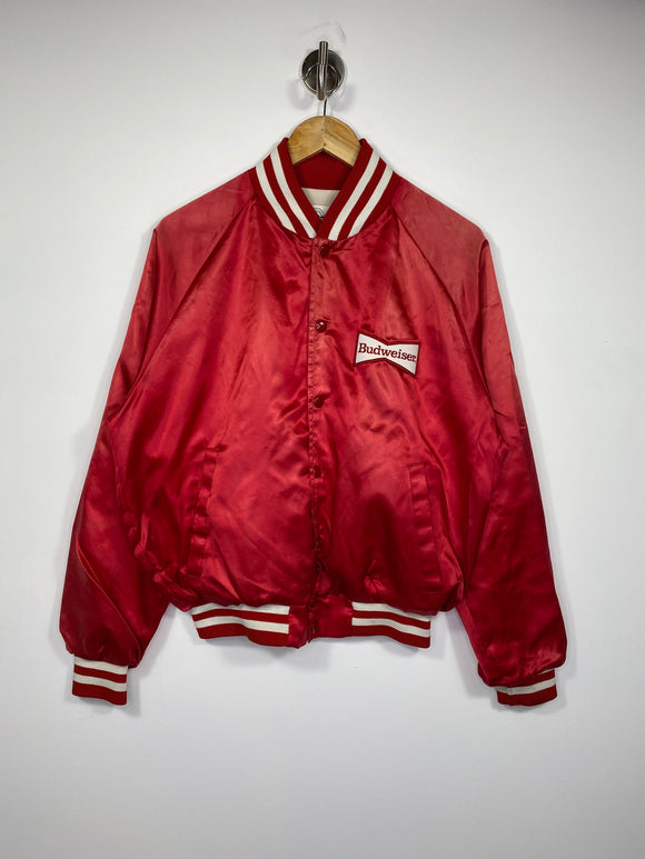 90's Budweiser Vintage Made in USA Jacket / 4656