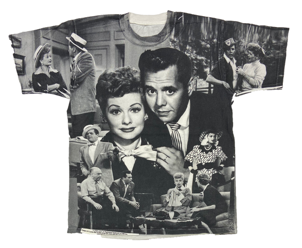 90's I Love Lucy All Over Print Vintage T-Shirts / 885