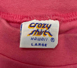 Vintage Crazy Shirts Made in USA T-Shirts / 895