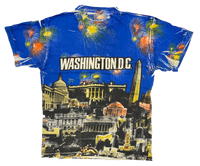 90's Washington DC All Over Print Vintage T-Shirts / 995