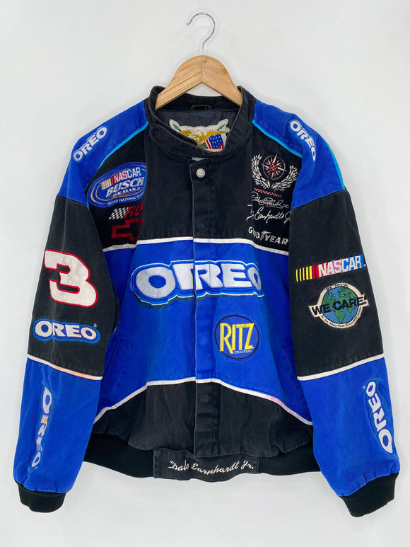 Vintage NASCAR OREO Size Approx.XL Racing Jacket / 5598