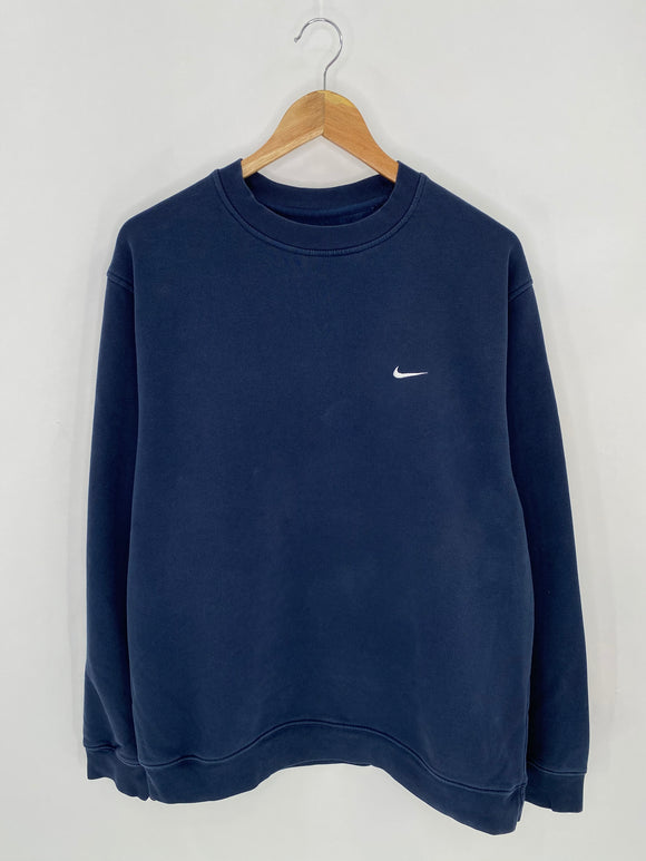 00' NIKE Mini Swoosh Size M Vintage Sweat-shirt / 6983