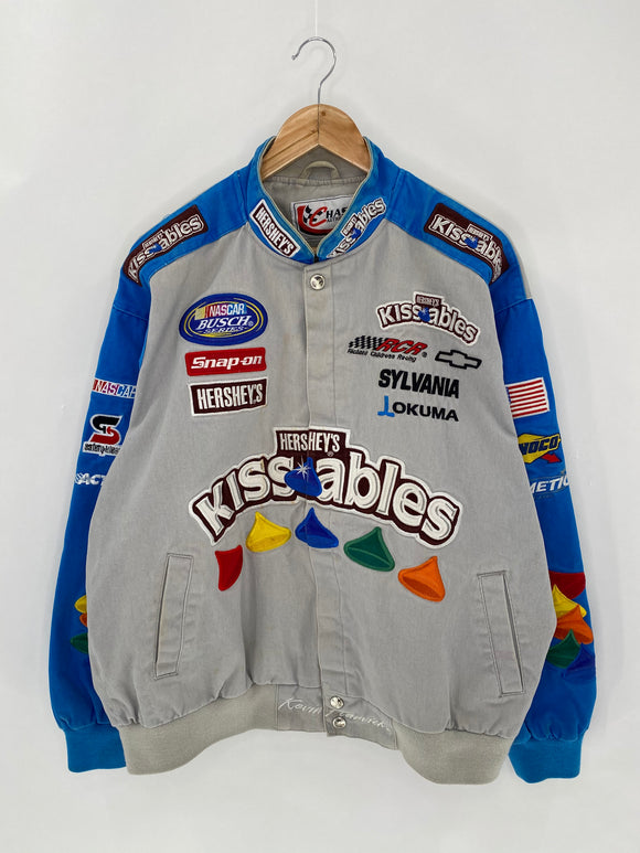 HERSHEY'S Size XL Vintage Racing Jacket / 6176