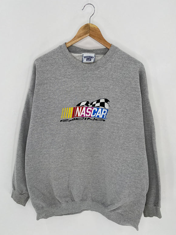90's NASCAR Size XXL Vintage Racing Sweat-Shirt / 6982