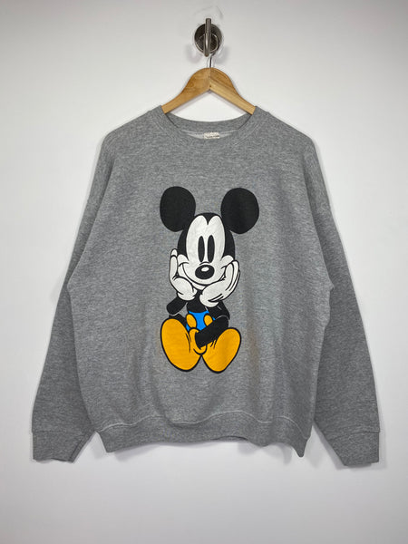 90's Disney Mickey Vintage Made in USA Sweat-Shirts / 4589