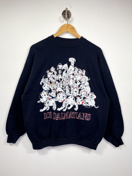 90's 101 Dalmatians Disney Made in USA Vintage Sweat-Shirt / 4492