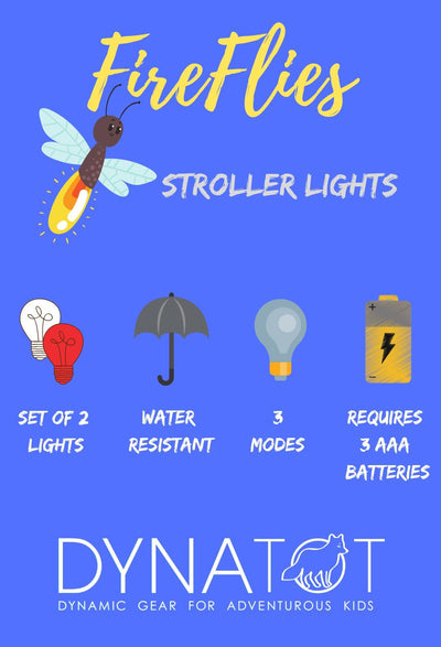 FireFlies - LED Stroller Lights Kid's Clothing Turquoise Buckeye