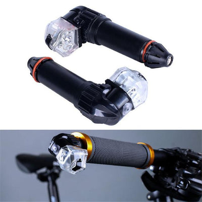 Handle Bar Turn Signals--LED Biking Safety Lights Your Life