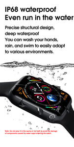 New 2020 Edition Deluxe W26 Series 6 Smartwatch for Apple IOS and Android