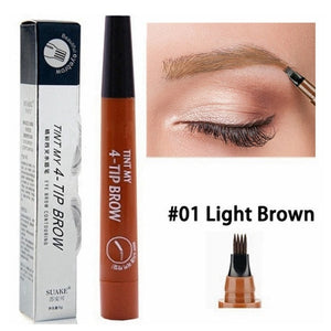 5 Colors Eyebrow Pen Waterproof