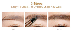 3 steps to create the eyebrow shape you want