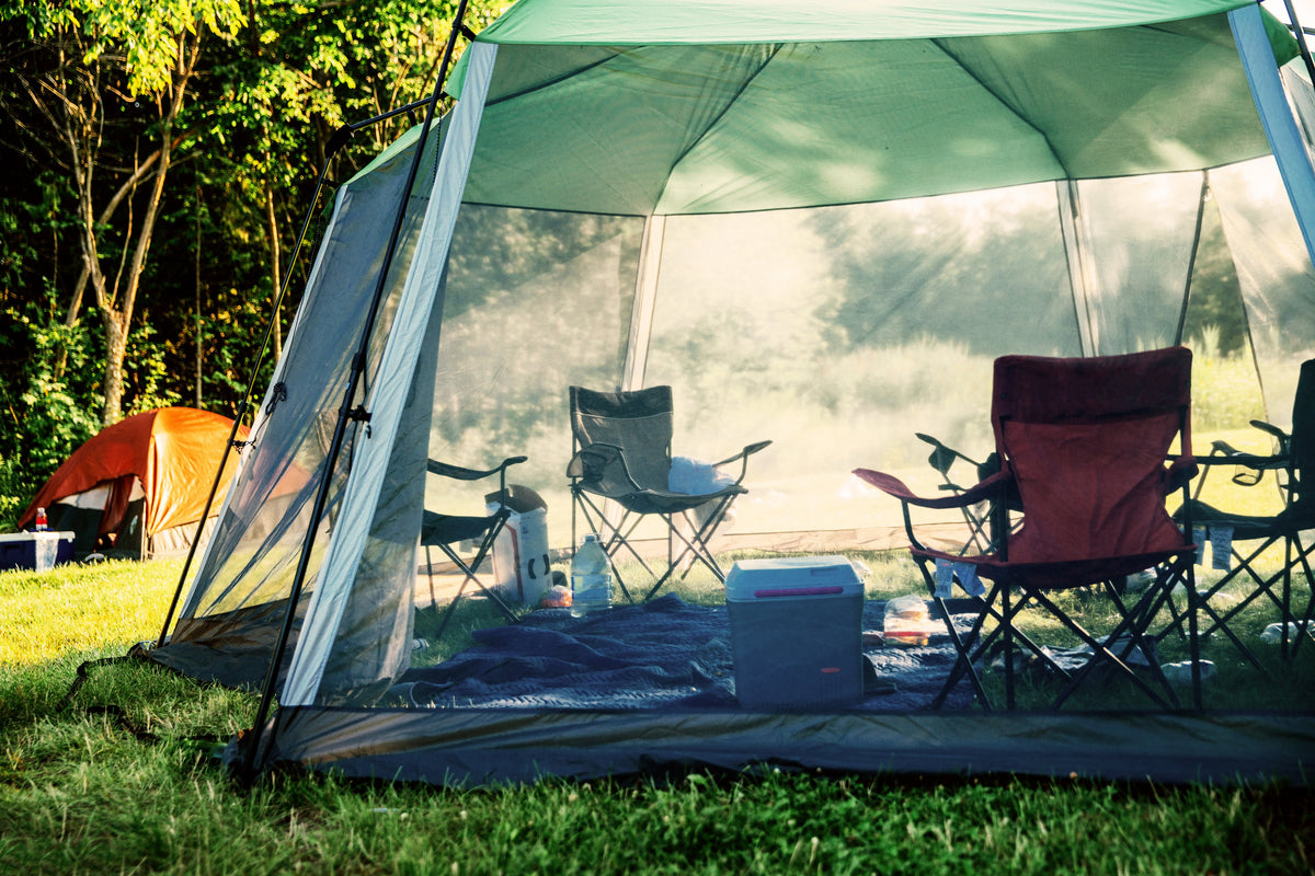 Intentional family camping