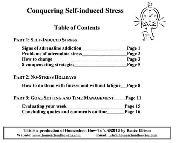 Conquering Self-induced Stress
