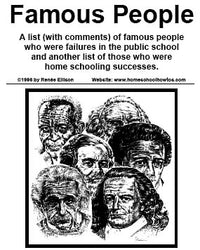 Famous People Who Homeschooled