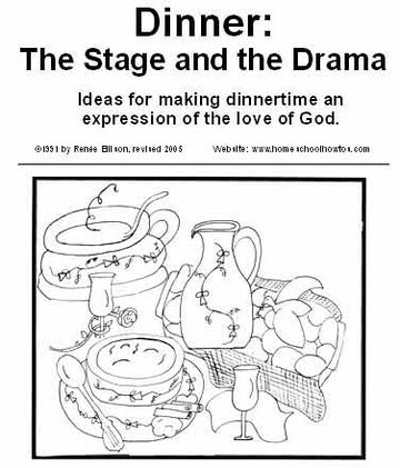 Dinner: The stage and the drama