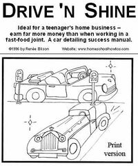 Drive and Shine: Car detailing business manual