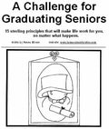 A Challenge for Graduating Seniors