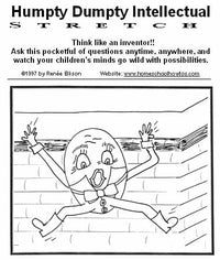 Think Like an Inventor: Humpty Dumpty intellectual stretch