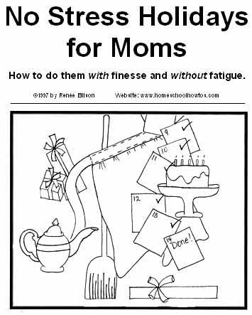 No Stress Holidays for Moms