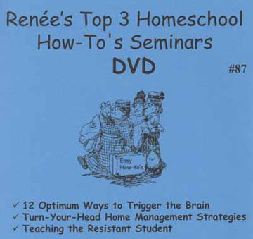Top 3 Homeschool How-To seminars videos