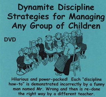 Dynamite Discipline Strategies for Managing Any Group of Children (MP4 video)
