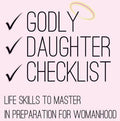 Godly Daughter Checklist