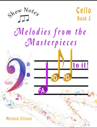 Show Notes Cello Book 2: Melodies from the masterpieces