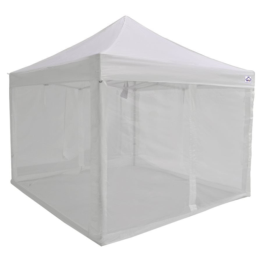 Screen Room Mesh Side Walls for 10x10 Pop up Canopy - Impact Canopies USA