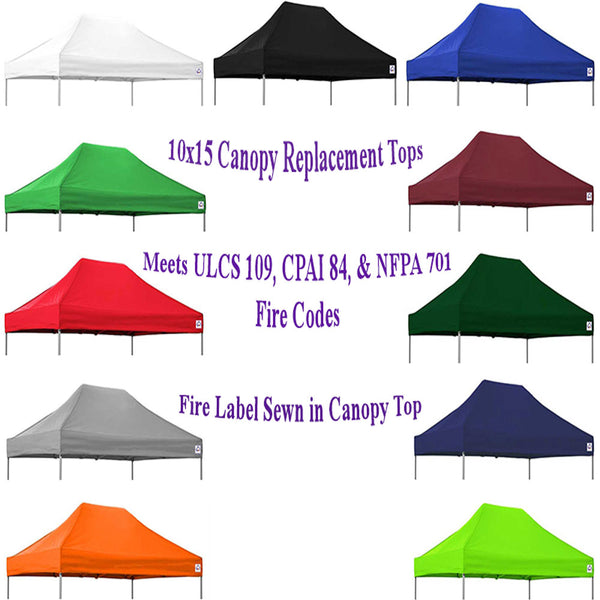 10x15 Pop Up Canopy Tent Replacement Top