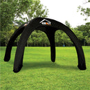 Custom Printed Eco Air Dome Inflatable Canopy Tent Structure