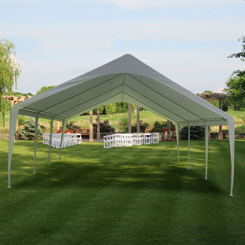 EVENT CANOPY - 20'x20'x12' (8 legs) Portable Carport Wedding Party Canopy Shelter - Impact Canopies USA