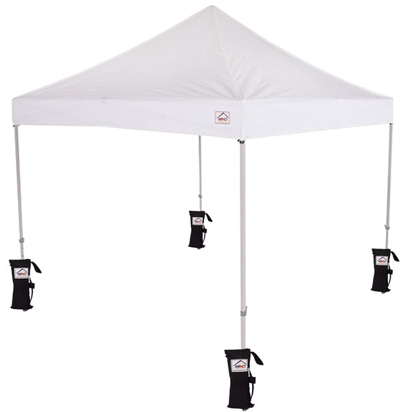 10x10 TL Recreational Grade Pop Up Canopy Tent with Weight Bags - Impact Canopies USA