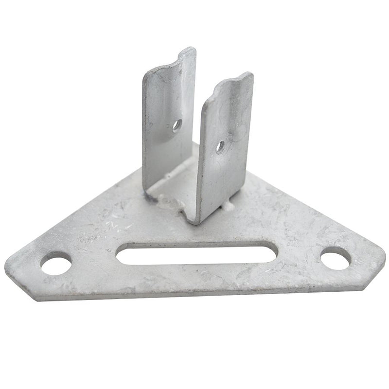 Part B. Steel Foot Pad, CL Frame Replacement Part - Impact Canopies USA