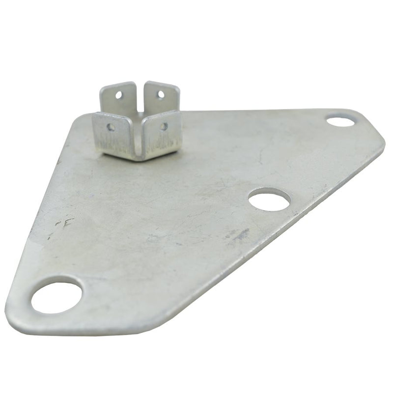 Part B. Steel Foot Pad with Aluminum Inner Leg, M Frame Replacement Part - Impact Canopies USA