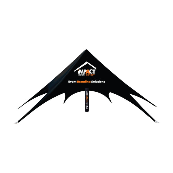 Custom Printed Impact Air Star Inflatable Pole Spider Canopy