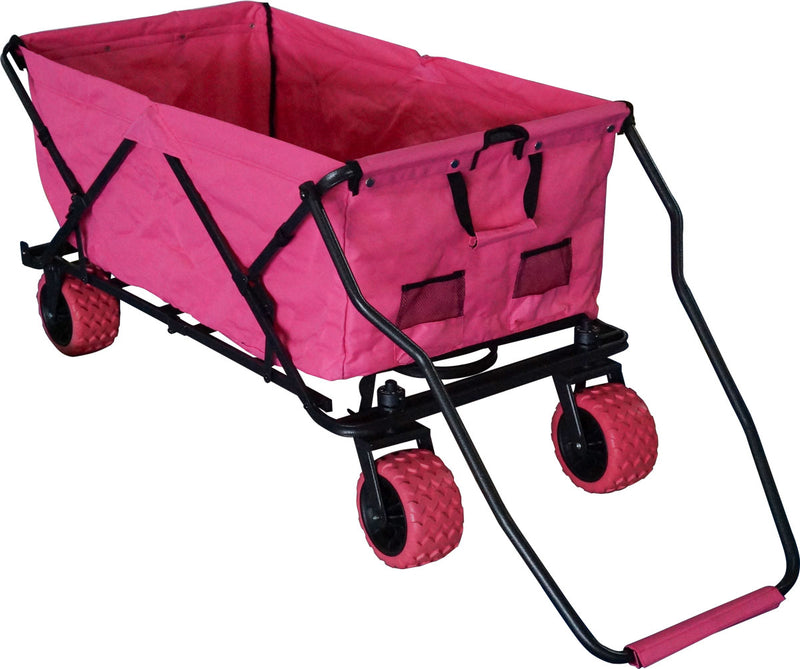All-Terrain EXTRA LARGE Folding Wagon Collapsible Beach Cart - Impact Canopies USA