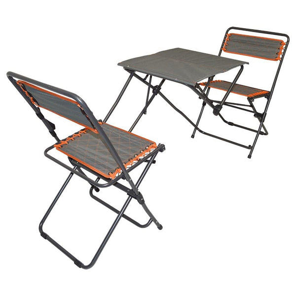 Folding Camping Table and Chairs - Tailgate Outdoor Table Set - Impact Canopies USA