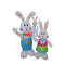 Outdoor Airblown Yard Inflatable Easter Decoration - Impact Canopies USA